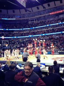 Second Row at the 2013 B1G Semi-Final. No Cost.