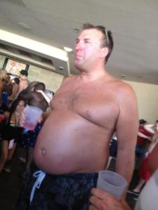 Look at Fat Bielema Trying To Be Cool