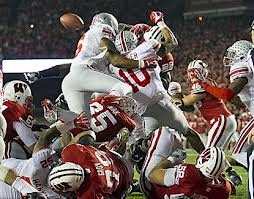 Shazier's Game Changing Ball Punch Last Year @ Wisconsin