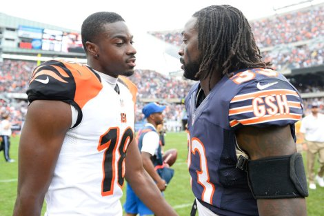 NFL: Cincinnati Bengals at Chicago Bears