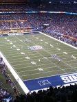 Nosebleeds are the best place to start. My first seat at SBXLVI