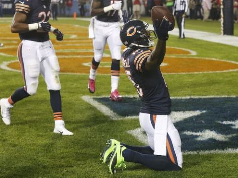 Brandon Marshall had one hell of a TNF game vs. NYG (green shoes included)