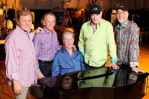 Kevin Love's Uncle Mike Love (second from right) is one of the original members of the Beach Boys.