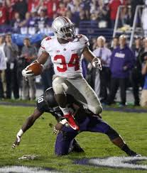 Carlos Hyde in pure beastmode at Northwestern