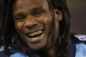 Gold Teeth, Dreads, Chris Johnson really is a pirate. No really he graduated from ECU