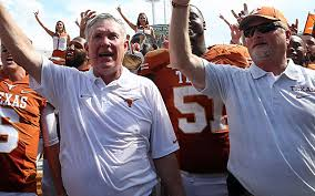 Even Mack Brown makes winning look fun