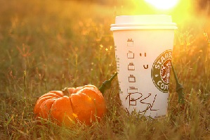 I see you there Pumpkin Spice Latte. I see you, and I want you in and/or around my mouth