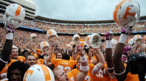 Sing Rocky Top from the Mountain Tops