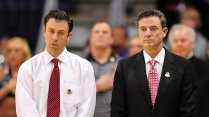 Richard Pitino (left) finally has his own major conference head coaching gig.
