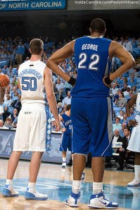 Kenny George was a standout player at UNC-Asheville
