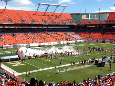 Miami has the worst fanbase in college.