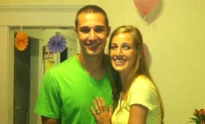 Congrats to the future Mr. and Mrs. Aaron Craft