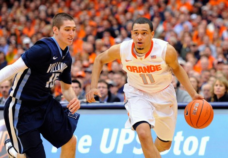 NCAA Basketball: Villanova at Syracuse