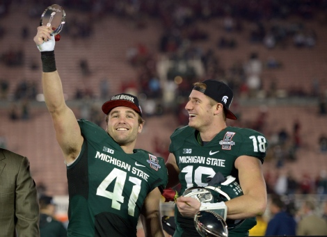 NCAA Football: Rose Bowl-Stanford vs Michigan State