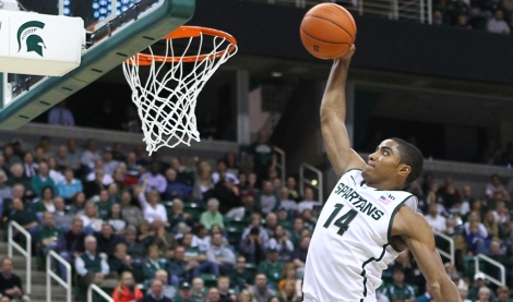 NCAA BASKETBALL 2012 - OCT 30 - Northwood at Michigan State